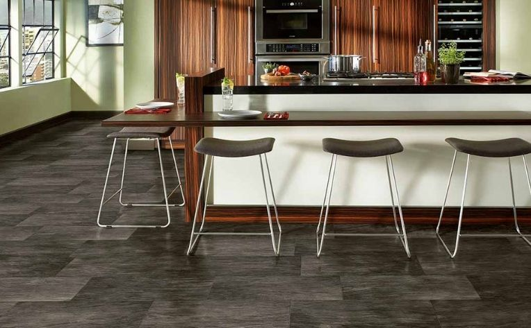 Luxury Vinyl Waterproof Kitchen Flooring